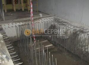 Усиление проема под установку эскалатор