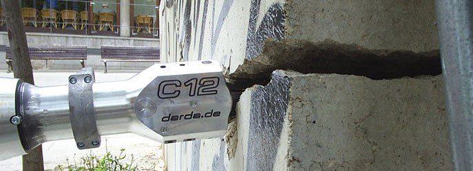 Гидроклин - разрушение бетона