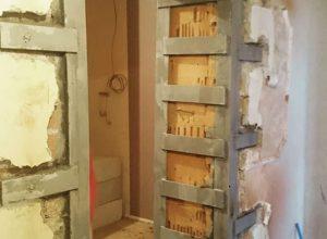 Проем в несущей стене при объединении квартир в одном из домов