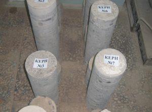 Отбор керна бетона в Каменск-Уральском